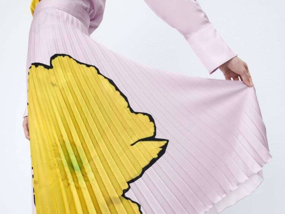 Foto: La nueva falda de Zara. (Cortesía)