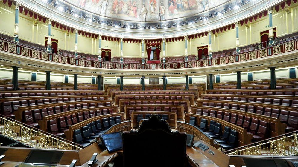 Foto: Congreso de los diputados. (EFE)