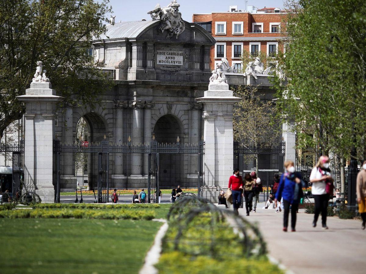 Foto: Parque de El Retiro, en Madrid. (EFE)