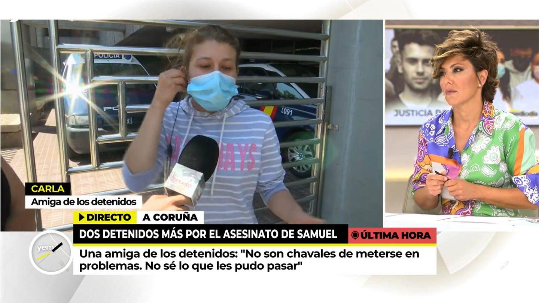 Sonsoles Ónega, en 'Ya es mediodía'. (Mediaset)