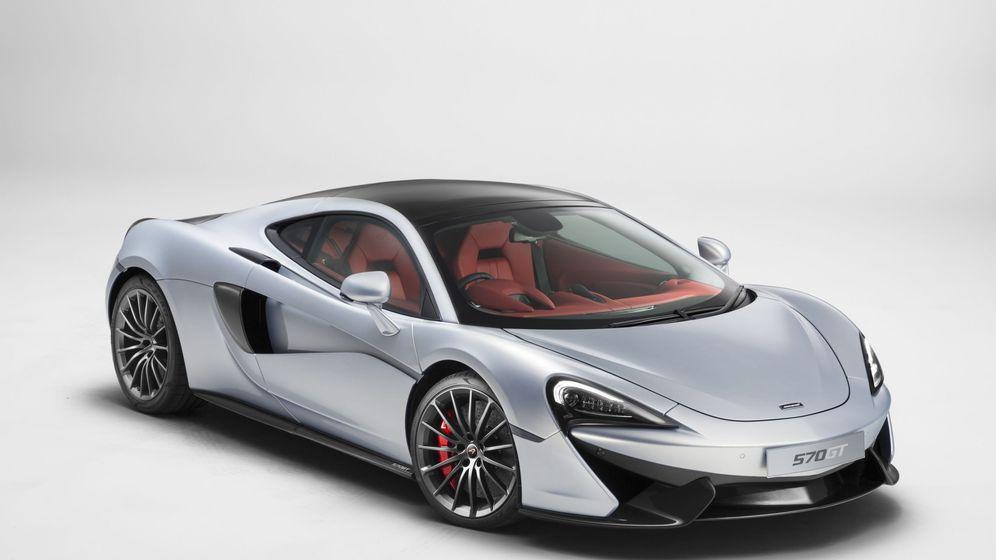 Foto: Un McLaren menos deportivo
