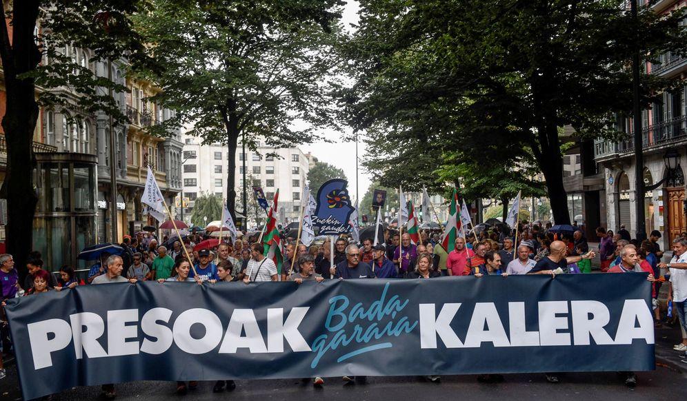 Foto: Un amanifestación a favor de los presos de ETA. (EFE)