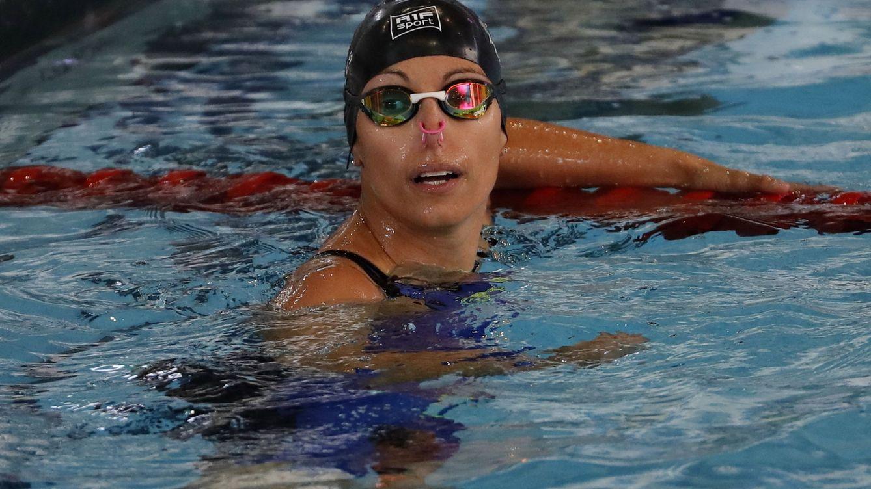 Foto: Teresa Perales, en los Mundiales Paralímpicos de 2017. (EFE)