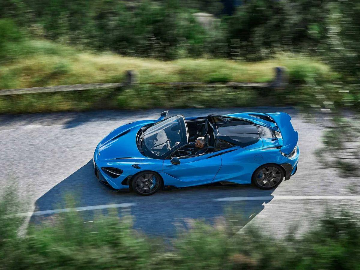 Foto: McLaren lanza su impresionante 765LT Spider, el descapotable más potente firmado por la marca británica.