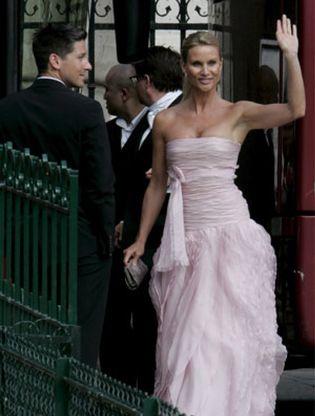 Foto: Nicolette Sheridan, contratada para asistir al Baile de la Ópera de Viena