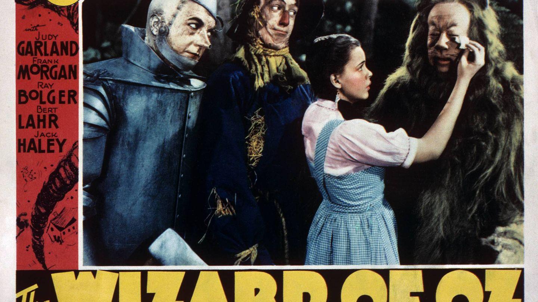 Judy Garland en un cartel de 'El Mago de Oz'. (Cordon Press)