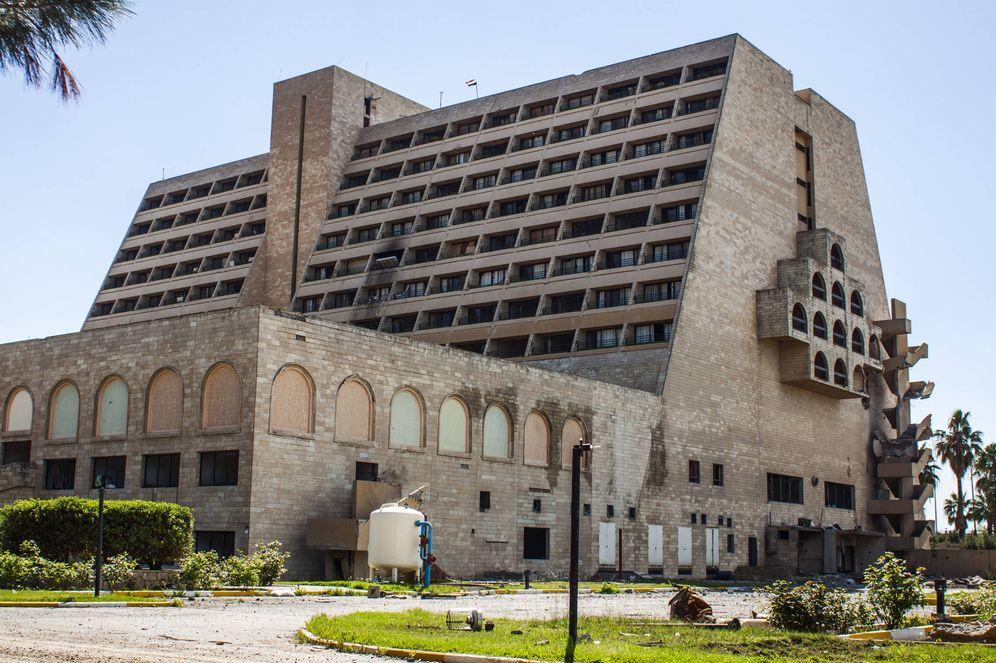 Foto: El 'Marina d'Or yihadista': El Hotel Nínive Internacional. (Ethel Bonet)