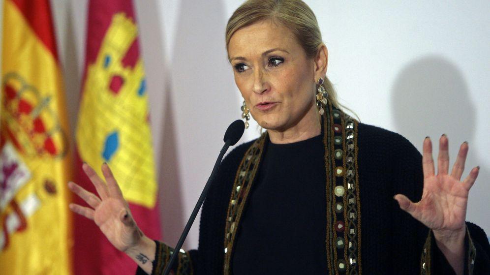 Foto: La presidenta madrileña, Cristina Cifuentes.