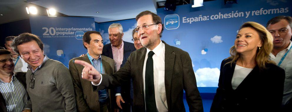 Clausura de la reunión interparlamentaria del Partido Popular (EFE)