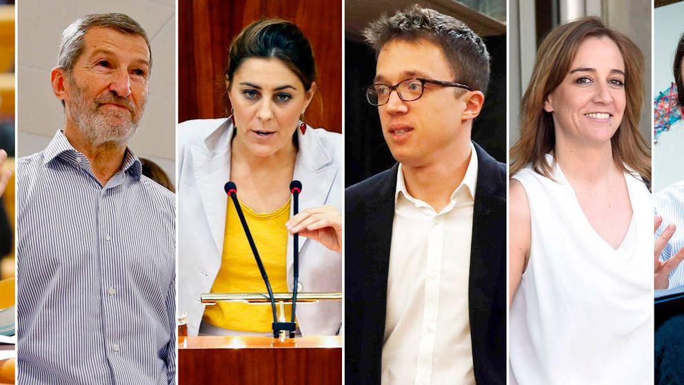 Pablo, Íñigo, Ramón, Lorena, Tania... Quién es quién en la guerra de Podemos en Madrid