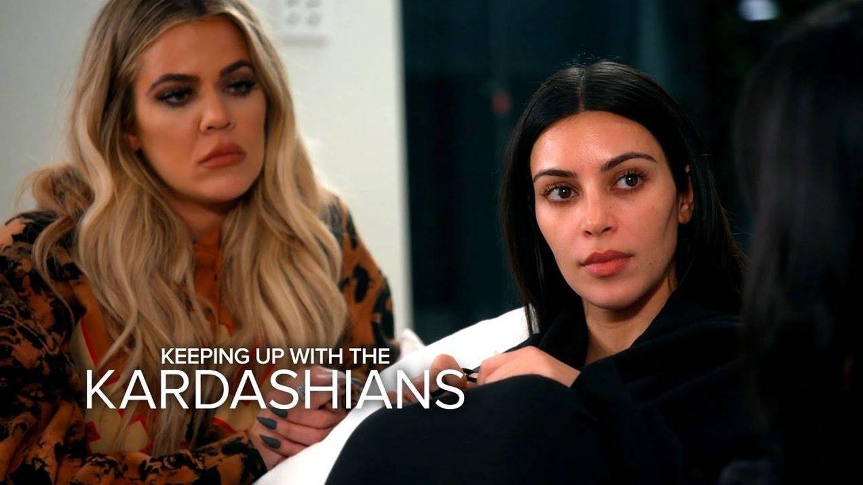 Kim Kardashian narrando su calvario en su reality.