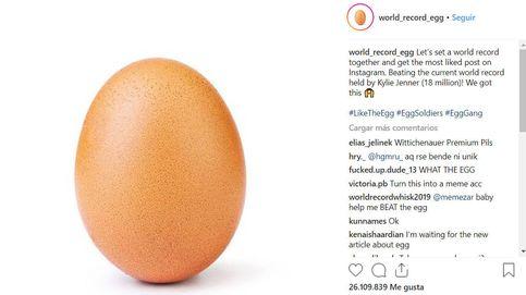 Desde hoy, la foto con más me gusta en la historia de Instagram es… ¡un huevo!