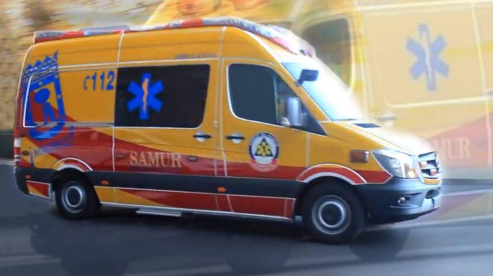 Foto: Ambulancia del SAMUR.