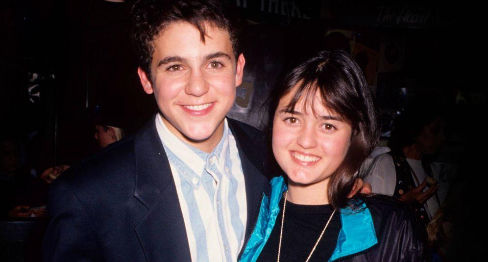 Foto: Fred Savage y su compañera de reparto en la serie. (Reuters)
