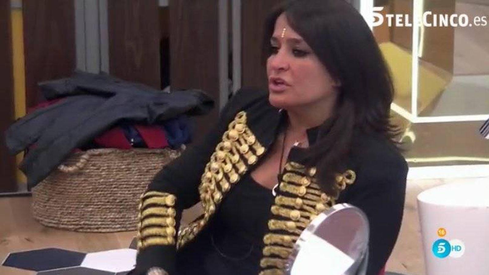 Aida Nizar Desnuda gh vip 5: la imagen que aida nízar pidió que no se emitiera