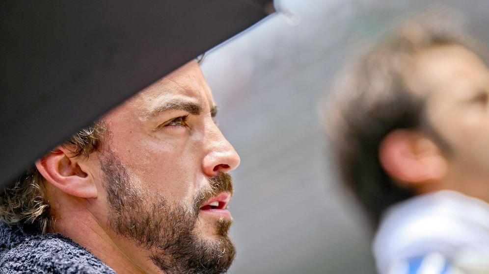 Foto: Fernando Alonso, en el Gran Premio de Fórmula 1 (EFE)