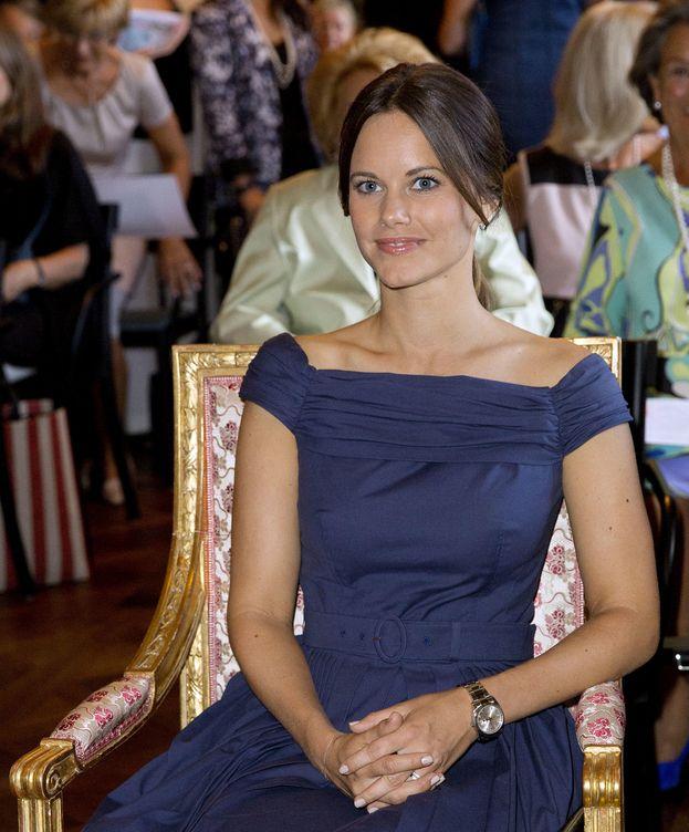 Foto: La princesa Sofía en un acto reciente (Gtres)