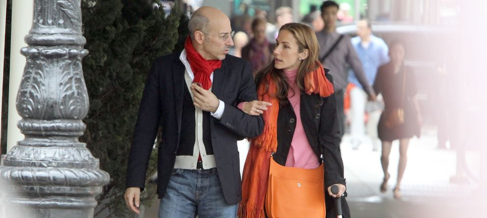 Foto: Telma Ortiz y Jaime del Burgo en Nueva York en 2012 (Gtres)
