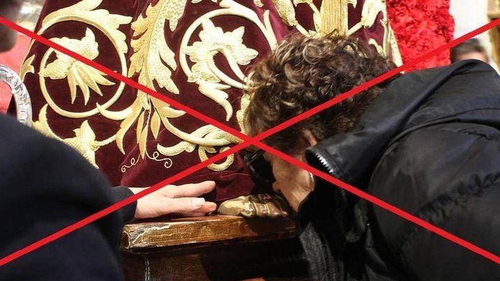 Recomiendan no besar los pies del Cristo de Medinacelli de Madrid por coronavirus