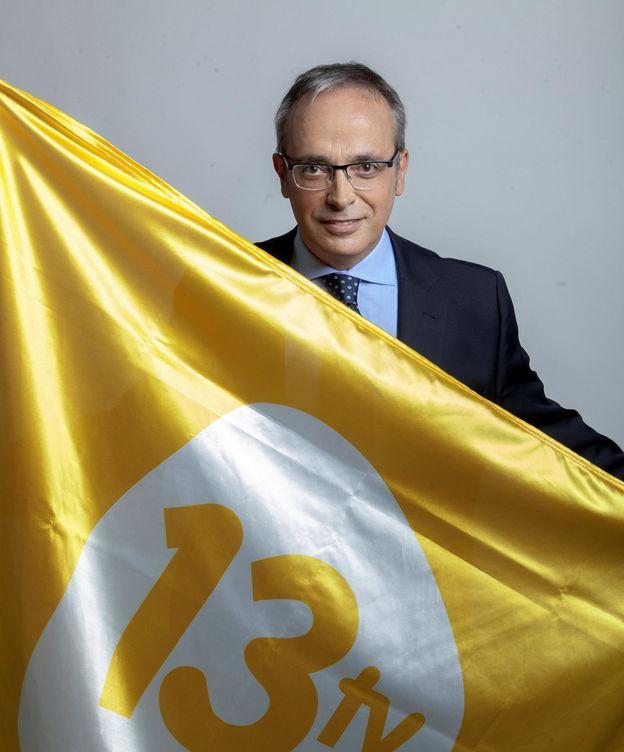 Foto: Alfredo Urdaci, periodista de 13TV. (EC)