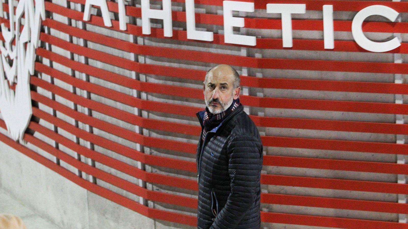 Foto: Aitor Elizegi, nuevo presidente del Athletic Club de Bilbao. (EFE)