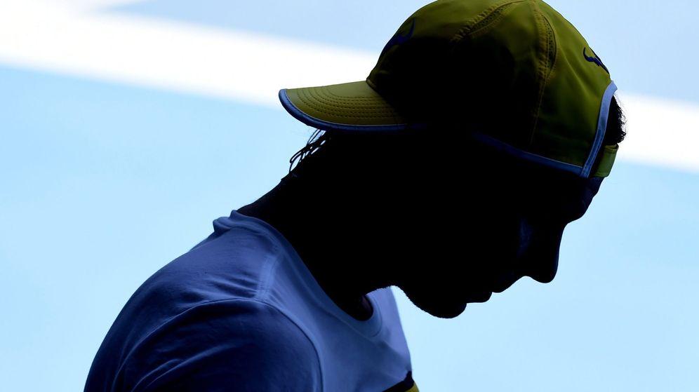 Foto: Rafa Nadal en Australia (Efe).