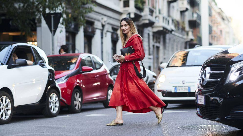 Foto: ¿El remate de un look perfecto? Zapatos metalizados, imposible equivocarse. (©Imaxtree)