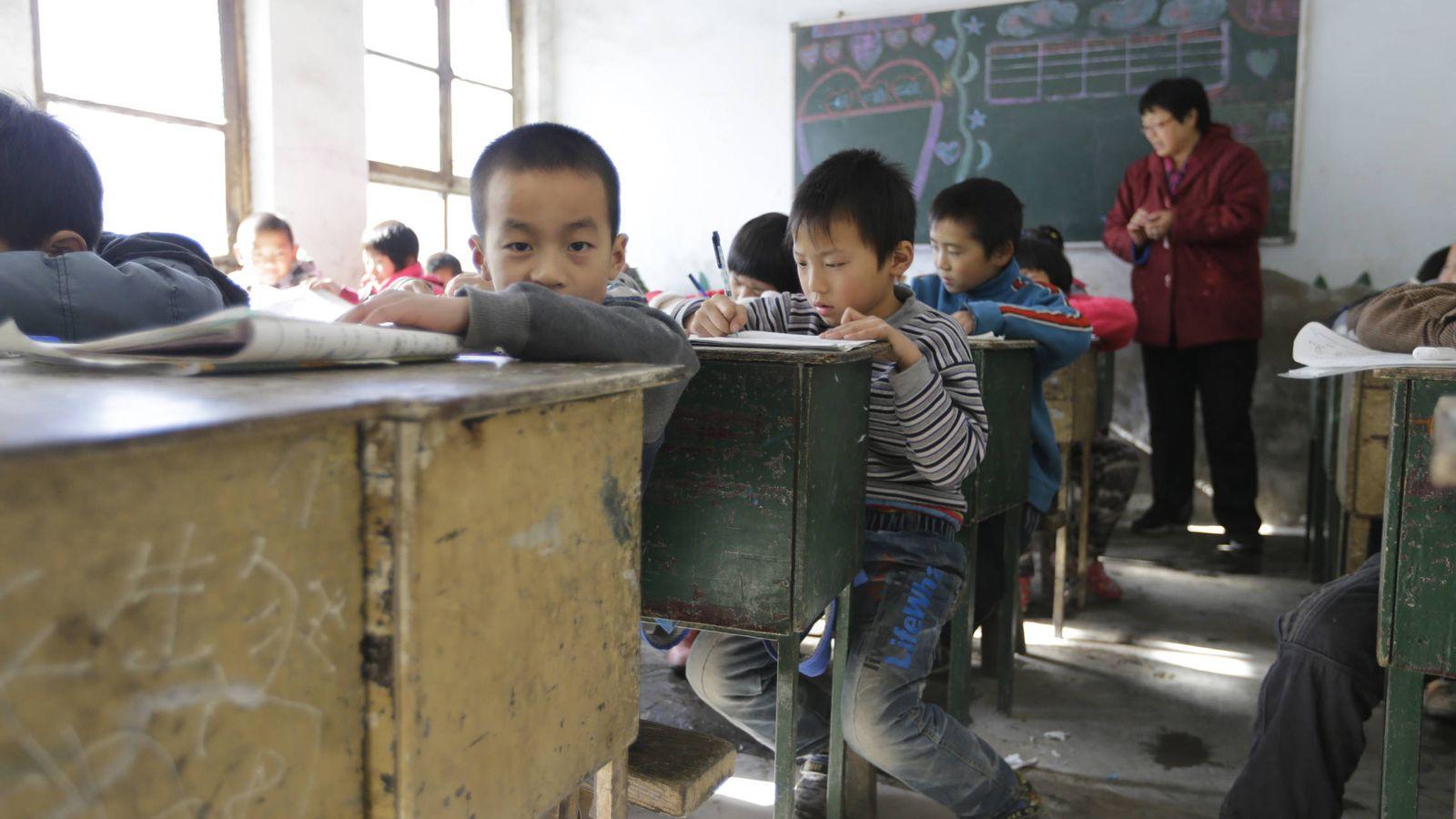Foto: Colegio a las afueras de Pekín. (Reuters/Jason Lee)