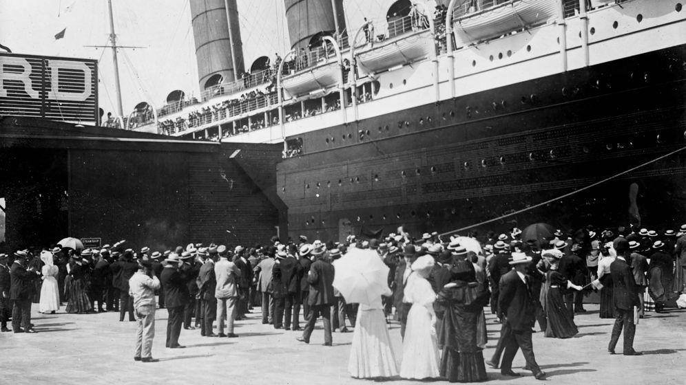 Foto: Una imagen de archivo del RMS Lusitania. (Cordon Press)