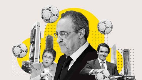 Florentino se puso agresivo. Historia oculta del pelotazo de las torres galácticas