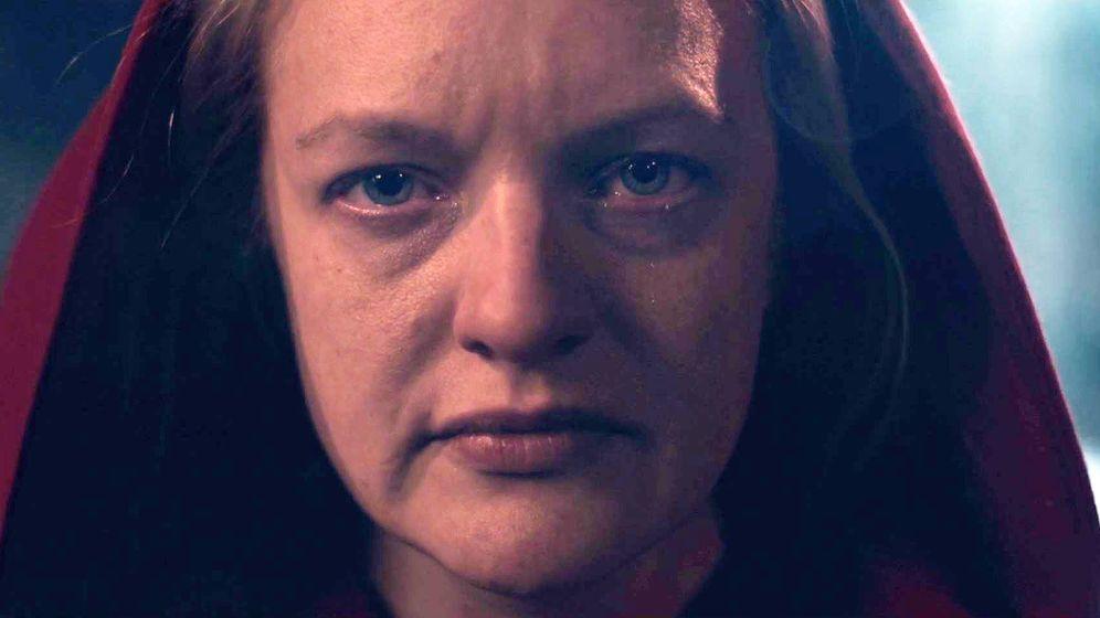Foto: June en el final de la segunda temporada. (HBO)