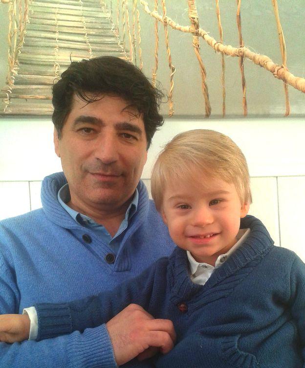 Foto: Francisco Rodríguez Criado junto a su hijo Francisco.