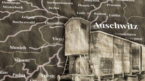 Así fue el colosal sistema ferroviario encargado del transporte de judíos a Auschwitz