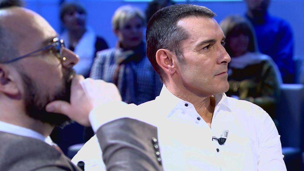 Foto: Jesús Vázquez, invitado en el regreso de 'Chester'. (Mediaset)
