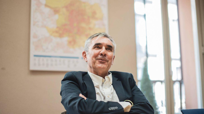 Eduardo Gutiérrez durante la entrevista (Jorge Álvaro Manzano).
