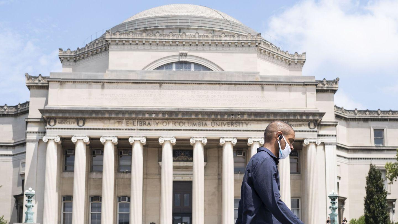 Campus de la universidad de Columbia (Reuters)