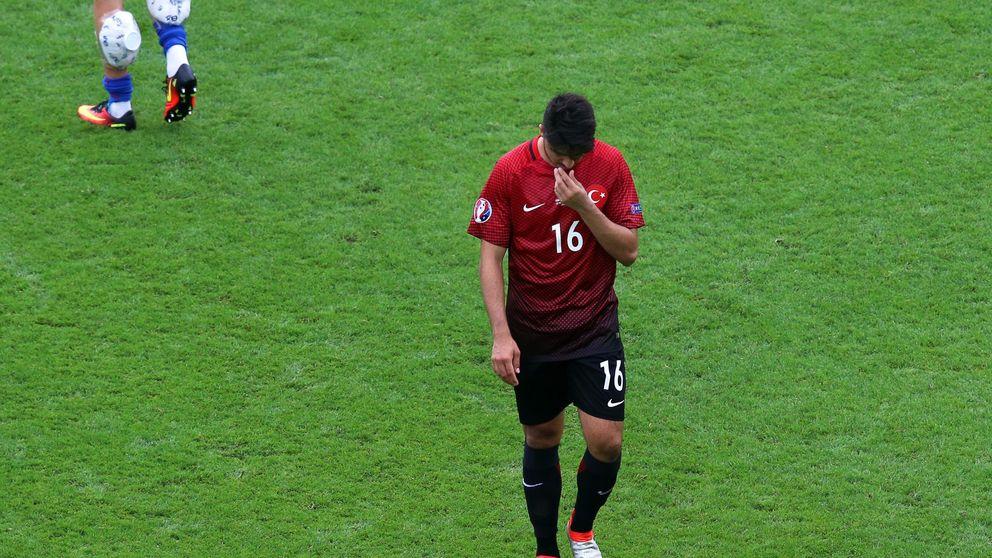 Terim pasa factura a Turquía, sobre todo al que se atusó el pelo en el gol de Modric