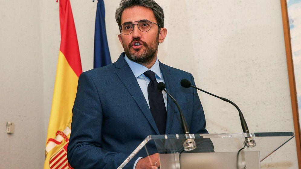 Foto:  El ministro de Cultura y Deporte, Màxim Huerta. (EFE)