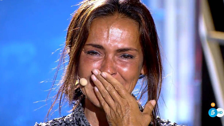 Olga Moreno en 'Supervivientes'. (Mediaset)