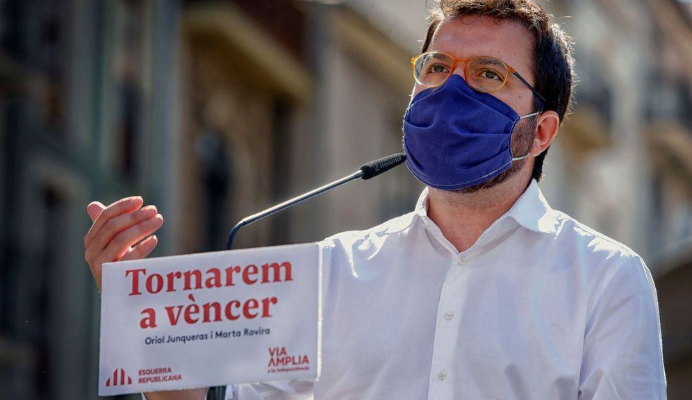 Foto: El coordinador nacional de ERC y vicepresidente del Govern, Pere Aragonés. (EFE)