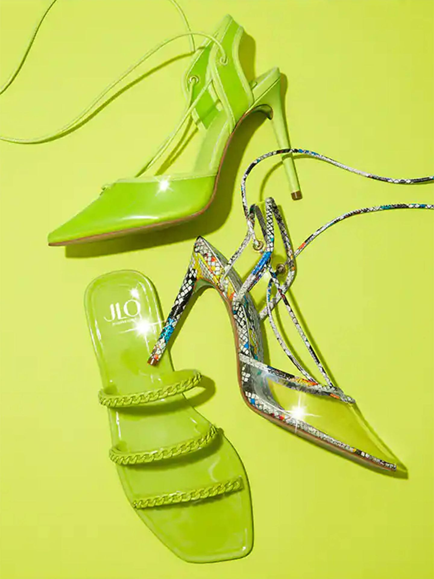Jennifer Lopez para DSW Designer Shoe Warehouse. (Cortesía)