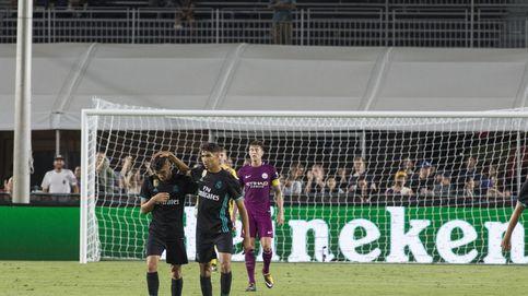 Óscar, la perla del Real Madrid que se salva del naufragio blanco ante Guardiola