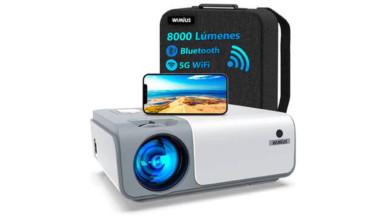 Proyector con Bluetooth WiMiUs