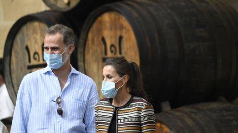 La chaqueta étnica de Uterqüe que Letizia ha recuperado para visitar La Rioja