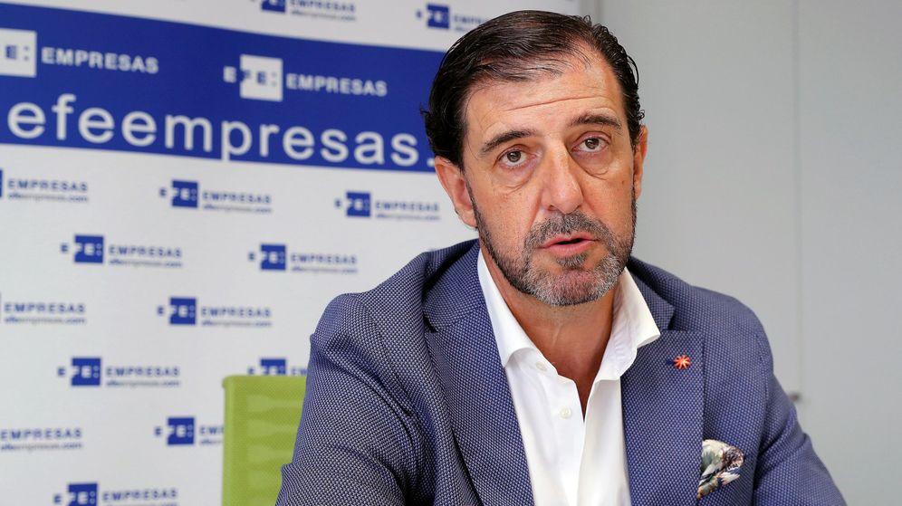 Foto: El presidente de la empresa General de Alquiler de Maquinaria (GAM), Pedro Luis Fernández