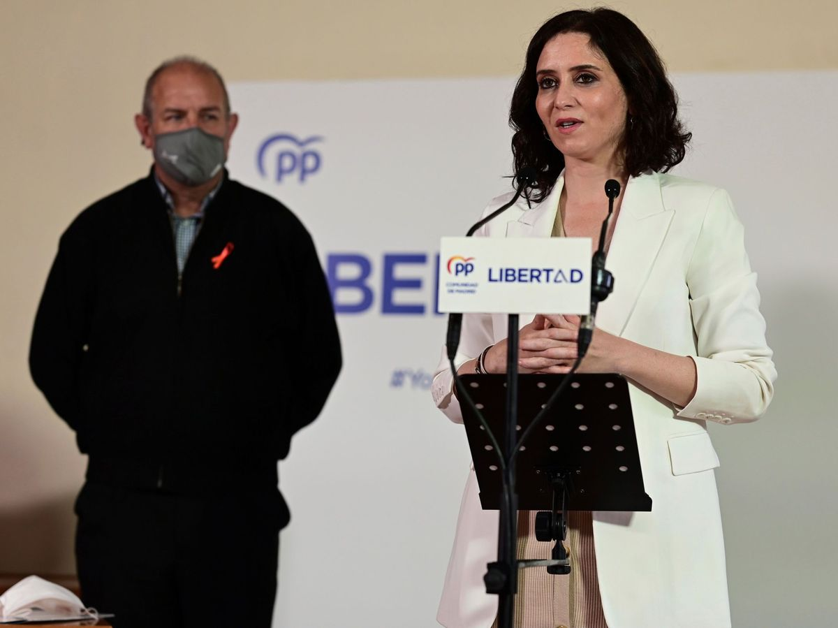 Foto: La presidenta de la Comunidad de Madrid y candidata del PP a la reelección, Isabel Díaz Ayuso. (EFE)