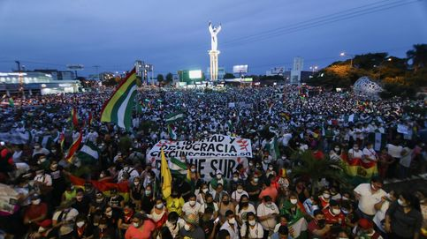 Marchas masivas en Bolivia contra la prisión de Áñez y la persecución del oficialismo