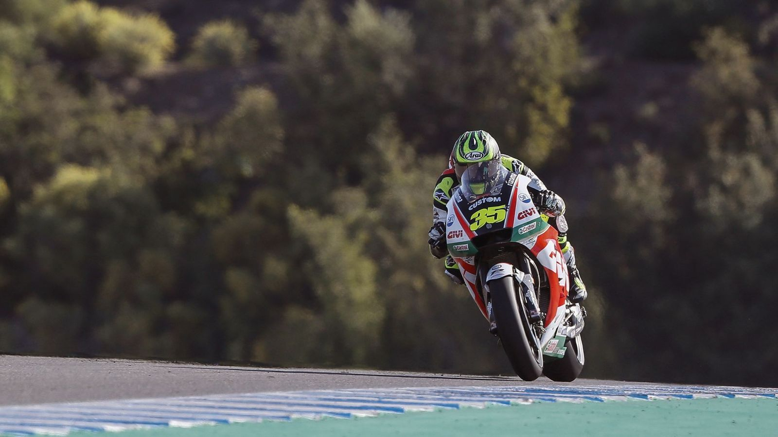 Foto: Cal Crutchlow batió el récord de MotoGP en el Circuito de Jerez Ángel Nieto. (EFE)