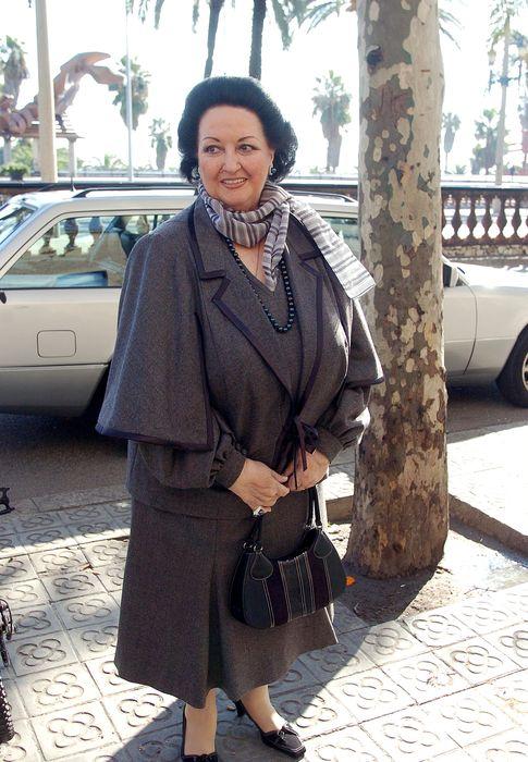 Foto: La soprano Montserrat Caballé en una imagen de archivo en un acto público en Barcelona (Gtres)