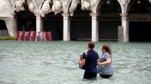 El 'acqua alta' inunda Venecia: todas las fotos